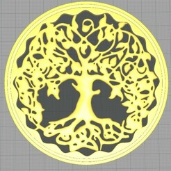 arbol.jpg Download STL file TREE OF LIFE • 3D print design, herquin754