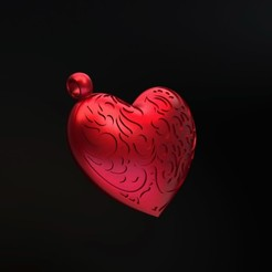 h0.jpg Download STL file Twisted heart puzzle • 3D printable object, SamMedinaIMC