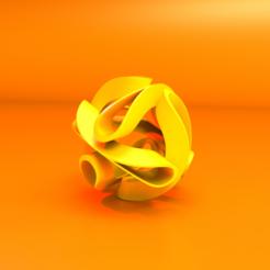 "Download free 3D printer designs Yvonne Domenge's sculpture, ""Tabachin Ribbon."", SamMedinaIMC"