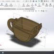 Download 3D printing templates CUP-EXCAVATOR, SamMedinaIMC