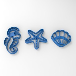 Principito.443.jpg Download STL file Cookie Cutter Sea Animals • Object to 3D print, sondrob
