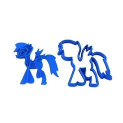 Download STL file Cookie Cutter Little Pony • 3D printable template, sondrob