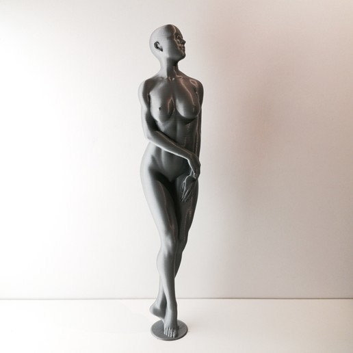 Download free 3D printing templates BEATRICE - Standing Woman Pose (vasemode, 1Mpoly), extreme3dprint