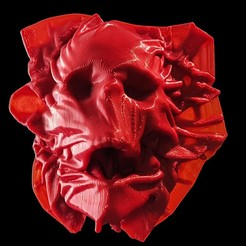 Download free 3D print files 'Breathless' Skullpture High-Resolution 2M, extreme3dprint