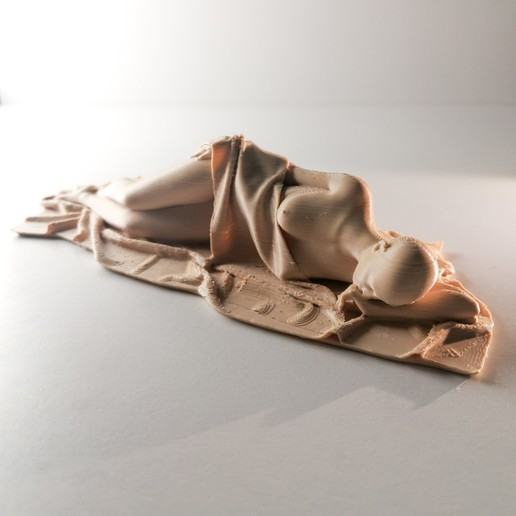 Download free STL files Sleeping Beauty, extreme3dprint