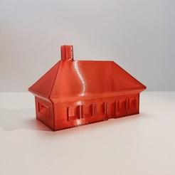 Download free 3D printer designs HOUSE - Vase Mode Compatible, extreme3dprint