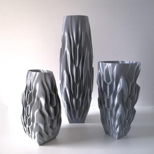 Download 3D printer designs VASE 93 Trio, extreme3dprint
