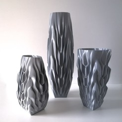 Download 3D printer designs VASE 93 Trio, extreme3dprint