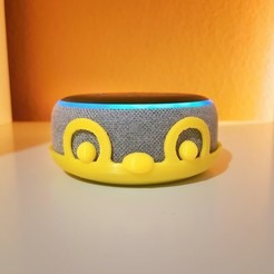 Download free 3D printer files ALEXA - Echo Dot 3 - Skin v1, extreme3dprint
