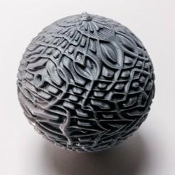 Download free 3D printing templates Xmas Tree Decoration 07, extreme3dprint