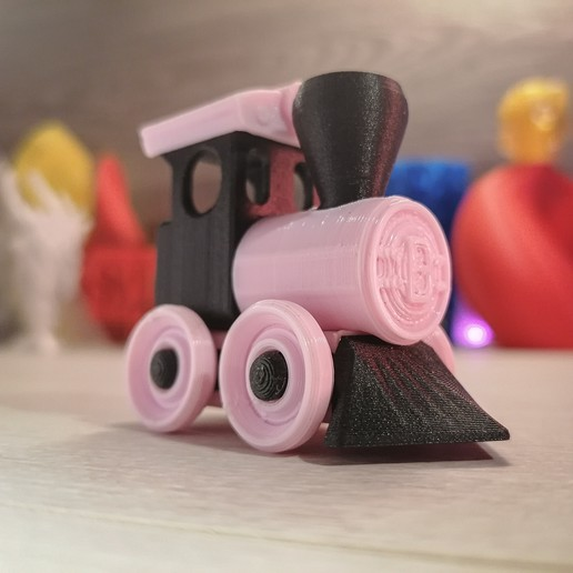 Download free 3D printing models =BB= Toy Train Building Kit, extreme3dprint