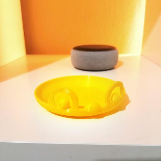 IMG_20200228_211846.jpg Download free STL file ALEXA - Echo Dot 3 - Skin v1 • 3D printable object, extreme3dprint
