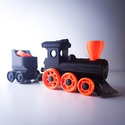 Télécharger fichier 3D =BB= Toy Train Kit - Avancé, extreme3dprint