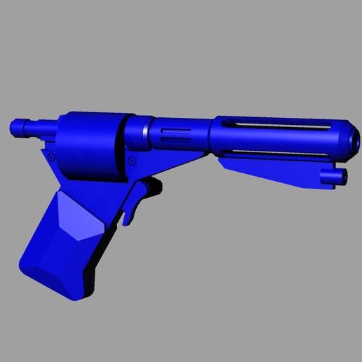 Download STL Logans Run DS Revolver Prop Pistol, Harada357