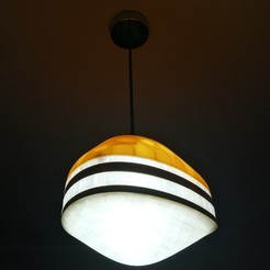 Download free 3D printing templates Beehive - Modular Ceiling Light, CatPrint