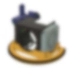Télécharger fichier impression 3D gratuit REMIX de l'anneau lumineux LED Ender Cob, 3dxcub3