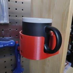IMG_20190802_161425-2.jpg Télécharger fichier STL gratuit Support de tasse à vis • Plan à imprimer en 3D, MakerBlubb