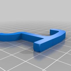 Descargar modelos 3D gratis Gancho para tablero de anuncios, MakerBlubb