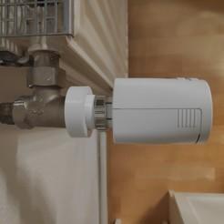 Download 3D printing templates Braukmann Honeywell M40x1,5 thermostatic head/valve adapter, MakerBlubb