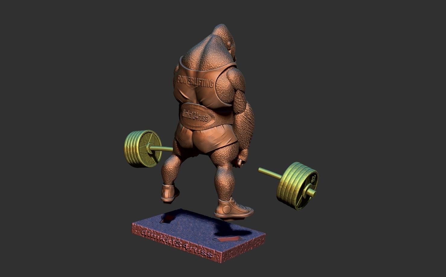 ZBrush Document9.jpg Télécharger fichier STL gorille • Objet imprimable en 3D, dimka134russ