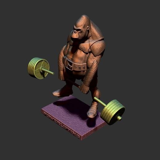 ZBrush Document8.jpg Télécharger fichier STL gorille • Objet imprimable en 3D, dimka134russ