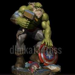 vVkO8H_Zwlc.jpg Download STL file hulk maestro • 3D printer template, dimka134russ