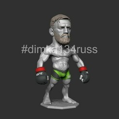ZBrush Documentgh.jpg Download STL file Conor McGregor  • 3D printing design, dimka134russ