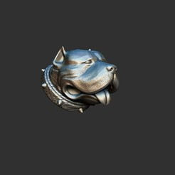 Download STL file staffordshire terrier • 3D printable template, dimka134russ
