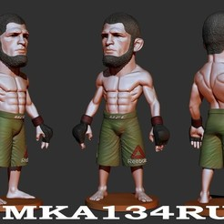 Descargar modelo 3D fighter mma ufc ,stl.obj, dimka134