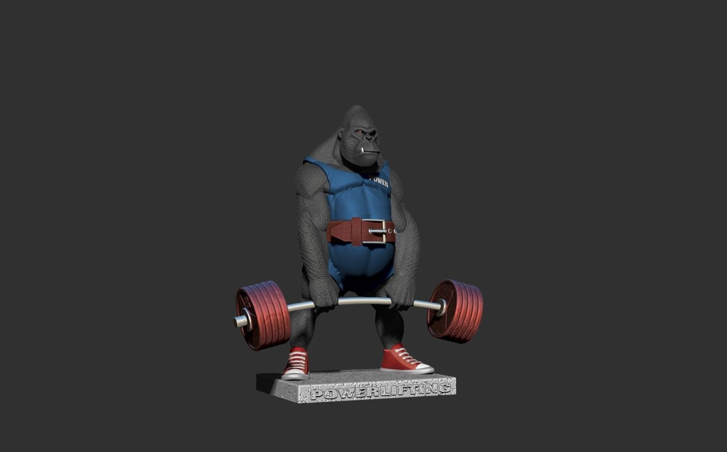 ZBrush Documentав.jpg Télécharger fichier STL gorille • Objet imprimable en 3D, dimka134russ