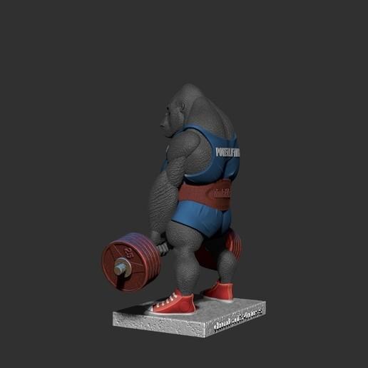ZBrush Documentнглд.jpg Télécharger fichier STL gorille • Objet imprimable en 3D, dimka134russ