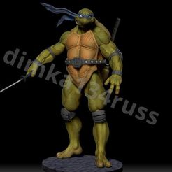 ZqXuMzx.jpeg Download STL file ninja turtle • 3D printing template, dimka134russ