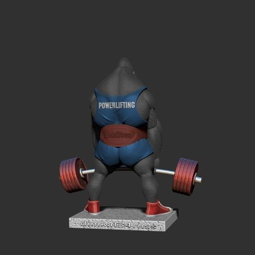 ZBrush Documentелнен.jpg Télécharger fichier STL gorille • Objet imprimable en 3D, dimka134russ