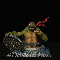 2fN1ExyEzU4.jpg Download STL file Ninja Turtles • 3D printable model, dimka134russ