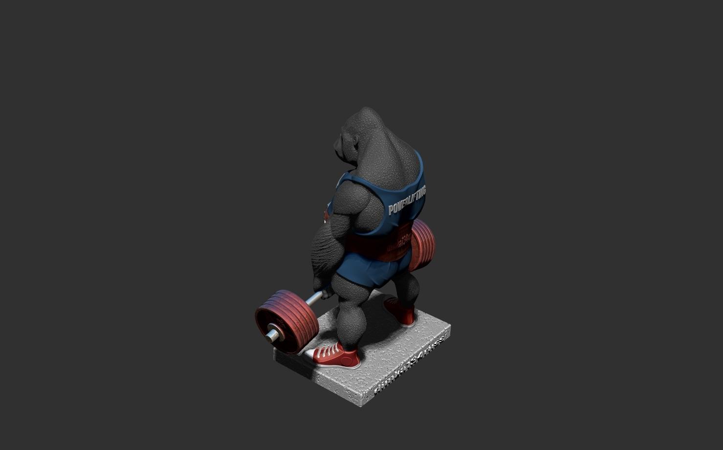 ZBrush Documentао.jpg Télécharger fichier STL gorille • Objet imprimable en 3D, dimka134russ