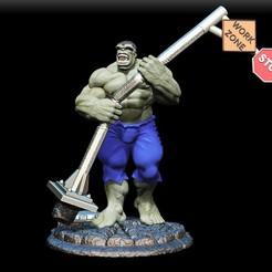 Download STL file hulk  • 3D printable design, dimka134russ