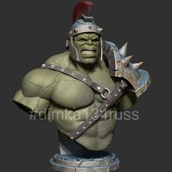 ZBrush Documentjhk.jpg Download STL file hulk gladiator • Object to 3D print, dimka134russ
