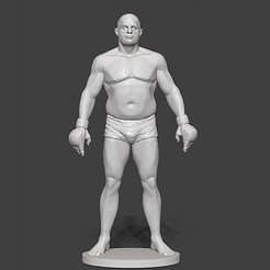 Download 3D printing models feador emelianenko mma, dimka134russ