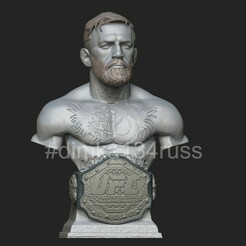 ZBrush Documenthjgjuk.jpg Download STL file conor mcgregor • 3D printer template, dimka134russ