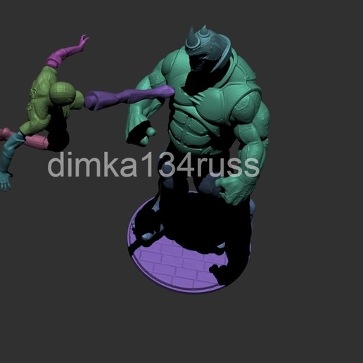 ZBrush Documento;p.jpg Download STL file spiderman rhino • Object to 3D print, dimka134russ