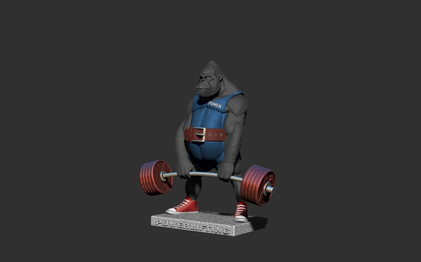 ZBrush Documentат.jpg Télécharger fichier STL gorille • Objet imprimable en 3D, dimka134russ