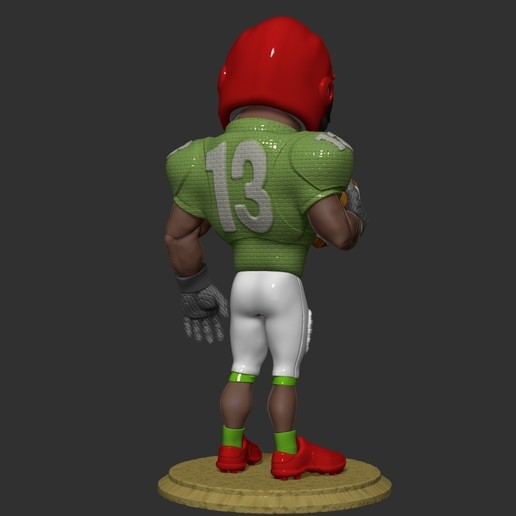 ZBrush Document2.jpg Download free OBJ file football player • 3D printer object, dimka134russ