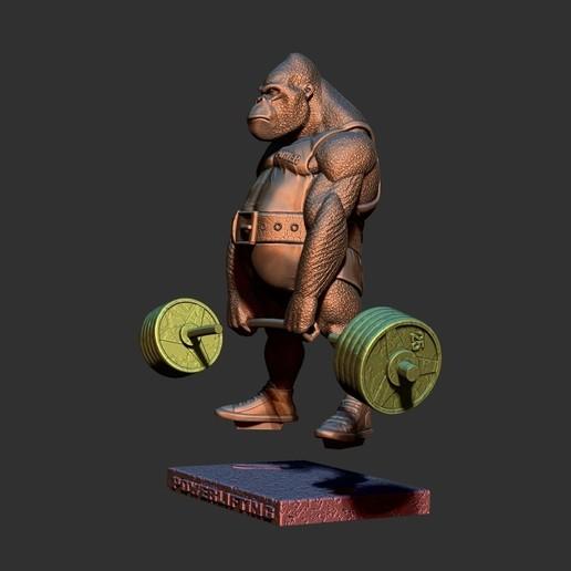 ZBrush Document7.jpg Télécharger fichier STL gorille • Objet imprimable en 3D, dimka134russ