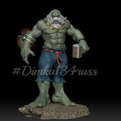 Download 3D printing designs hulk maestro, dimka134