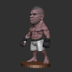 Download 3D printer model Alistair overeem, dimka134
