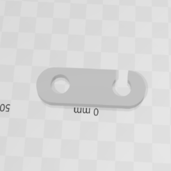 Télécharger modèle 3D gratuit loquet poulailler, bricostrat