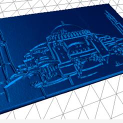 Download free 3D printer model Hagia Sophia Lithophane, erenkaan
