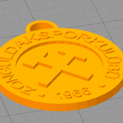 zs.PNG Télécharger fichier STL gratuit Zonguldakspor Anahtarlık • Objet imprimable en 3D, erenkaan