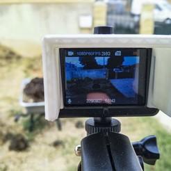 Télécharger plan imprimante 3D gatuit Visière action cam , EkleipsiMedias