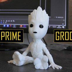 Download free 3D printing designs Baby Groot, EkleipsiMedias